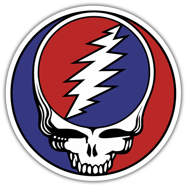 Pegatinas: Grateful Dead