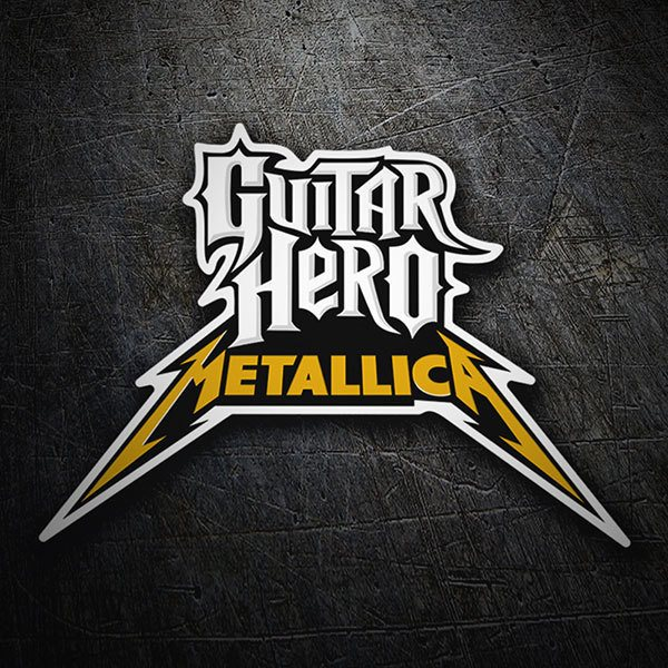 Pegatinas: Guitar Hero Metallica