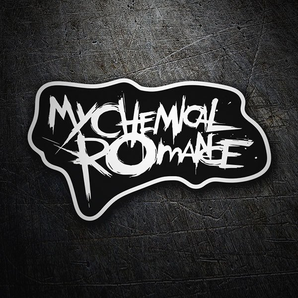 Pegatinas: My Chemical Romance 1