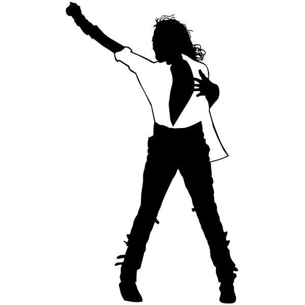 Pegatinas: Michael Jackson - Black or White