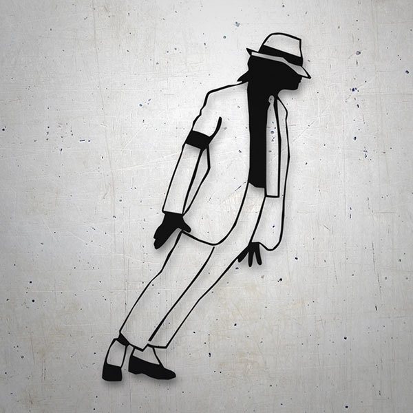 Pegatinas: Michael Jackson - Smooth Criminal