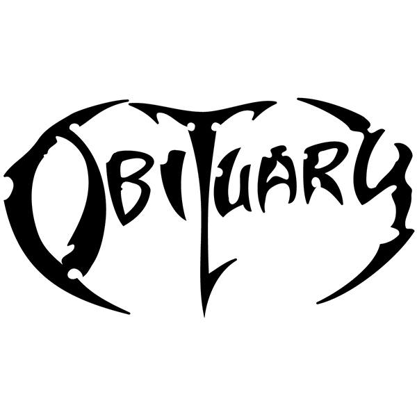 Pegatinas: Obituary