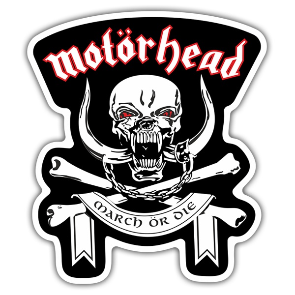 Pegatinas: Motörhead March ör Die