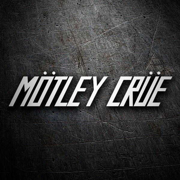 Pegatinas: Mötley Crüe - Too Fast For Love