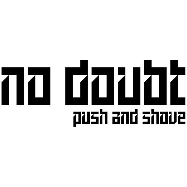 Pegatinas: No Doubt - Push and Shove