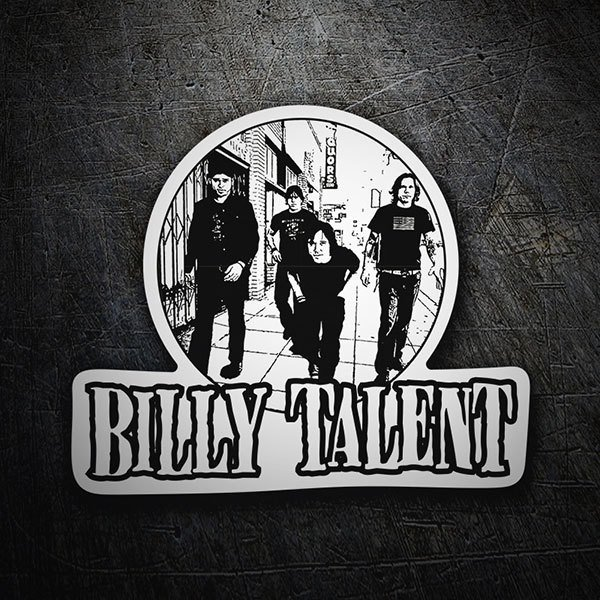 Pegatinas: Billy Talent 1