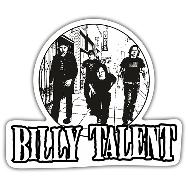 Pegatinas: Billy Talent 0