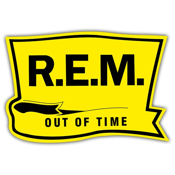 Pegatinas: R.E.M. - Out of Time