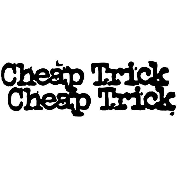 Pegatinas: Cheap Trick