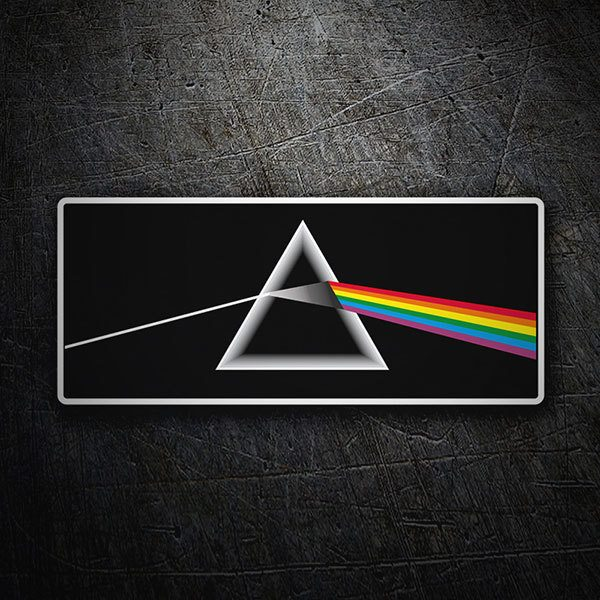 Pegatinas: Pink Floyd - The Dark Side of the Moon