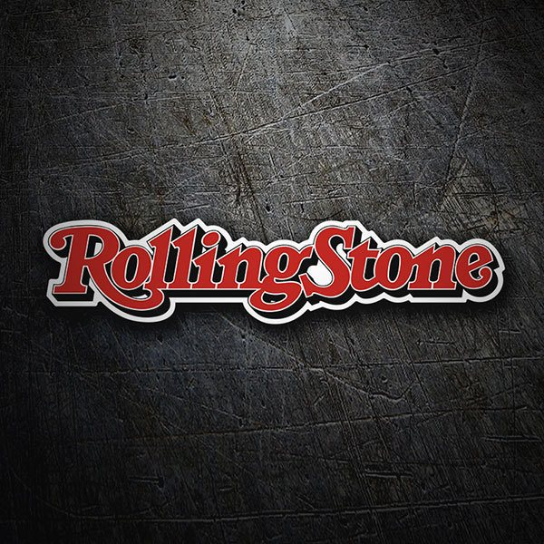 Pegatinas: The Rolling Stones Logo