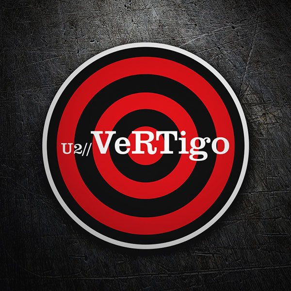 Pegatina U2 - Vertigo | TeleAdhesivo.com