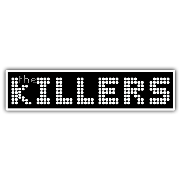Pegatinas: The Killers