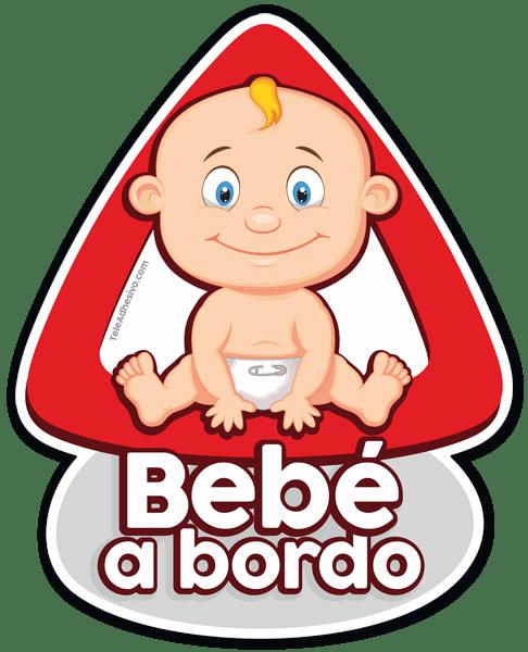 Pegatina beb a bordo para coche for Pegatinas de pared infantiles