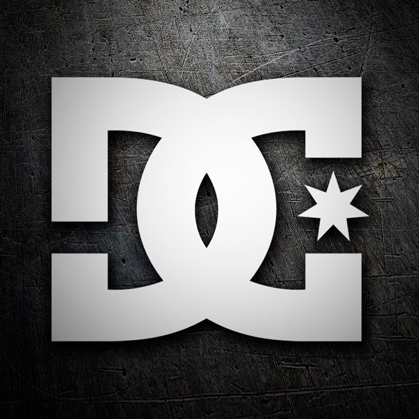 Pegatinas: DC SHOES USA LOGO