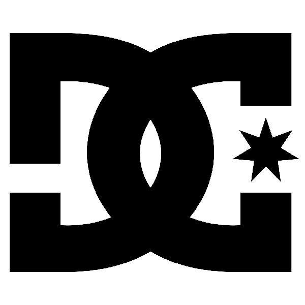Pegatinas: DC Shoes Logo