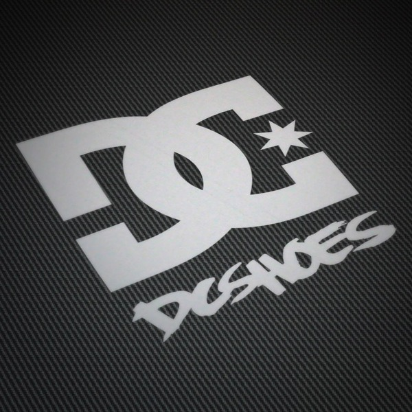 Pegatinas: DC SHOES USA 2