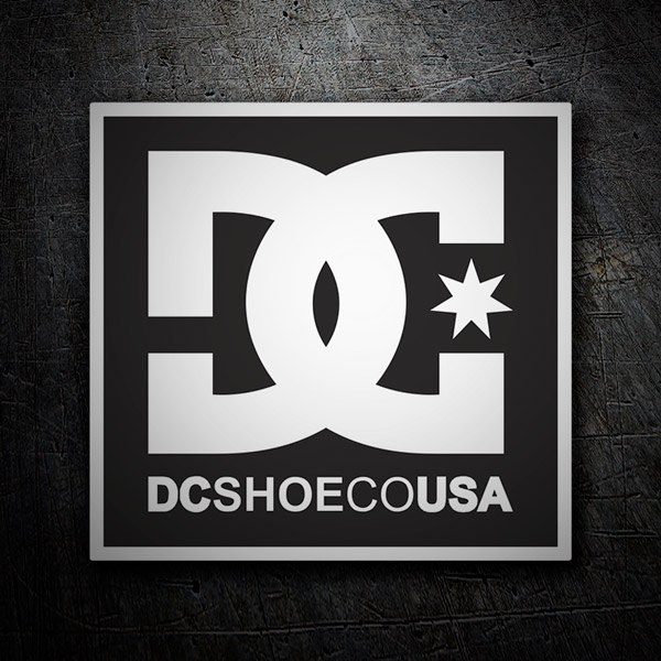 Pegatinas: DC Shoes USA
