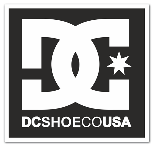 Pegatinas: DC SHOE CO USA