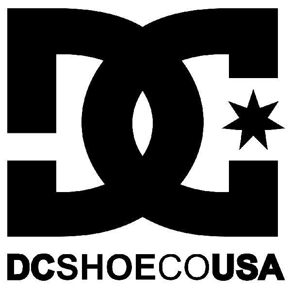 Pegatinas: DC SHOE CO USA 2