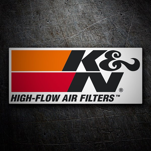 Pegatinas: K&N High-Flow Air Filters