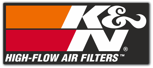 Pegatinas: K&N High-Flow Air Filters 2 0
