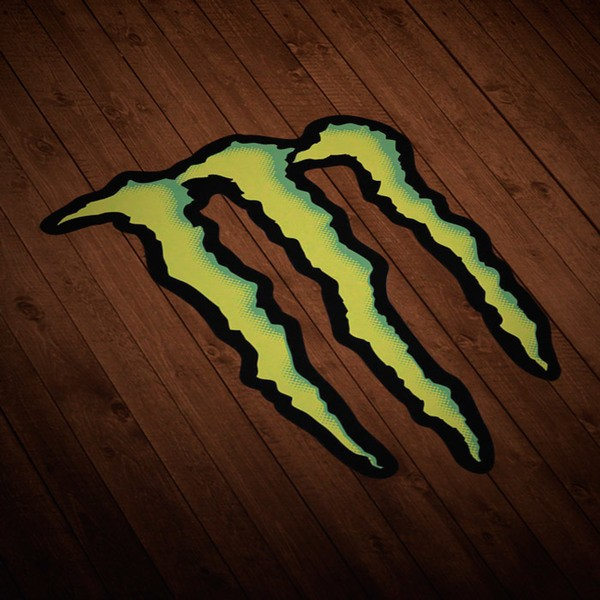 Pegatinas: Monster Energy Logo 1
