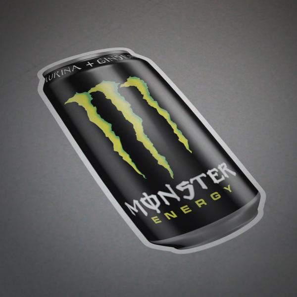 Pegatinas: Monster Energy Lata 1
