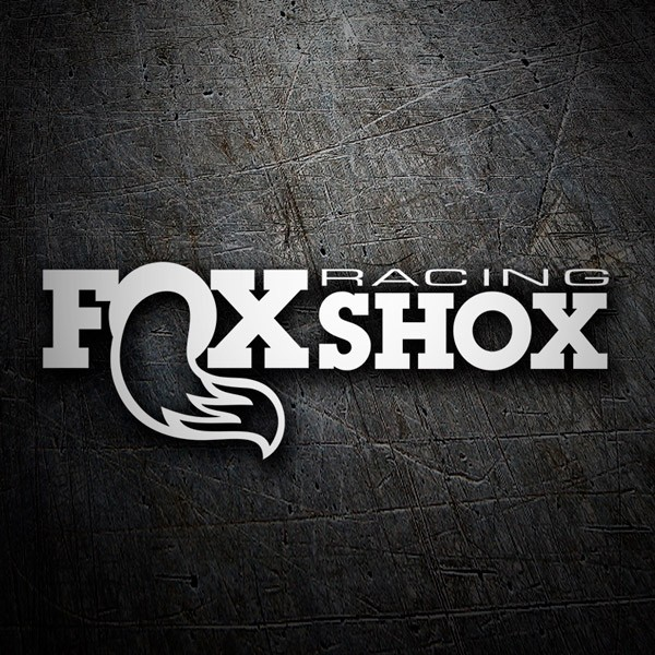 Pegatinas: Fox Shox Racing