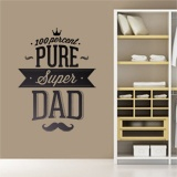 Vinilos Decorativos: 100 Percent Pure Super Dad 2