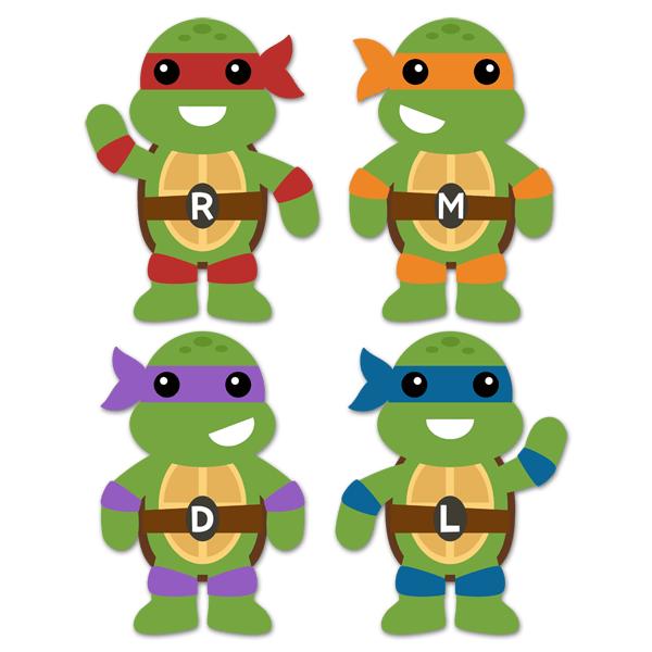 Kit Tortugas Ninja