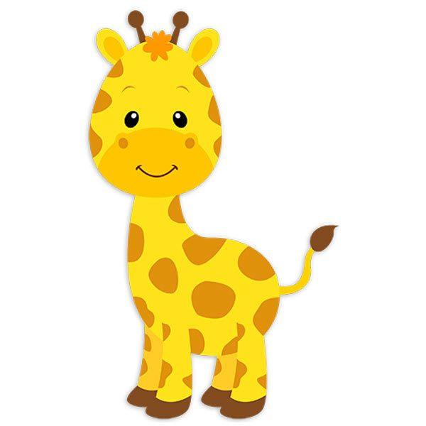 Vinilo infantil jirafa sophie - Imagenes animales infantiles ...