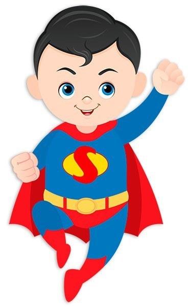 Картинка мальчик супермен
