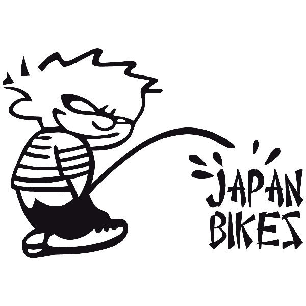 Pegatinas: Bad Boy Japan Bikes