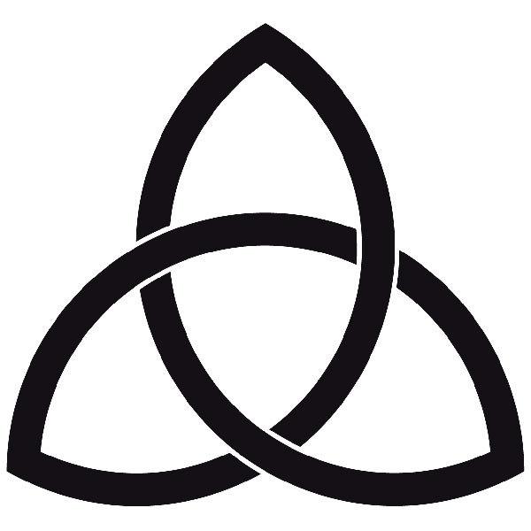 Pegatinas de símbolos y motivos celtas