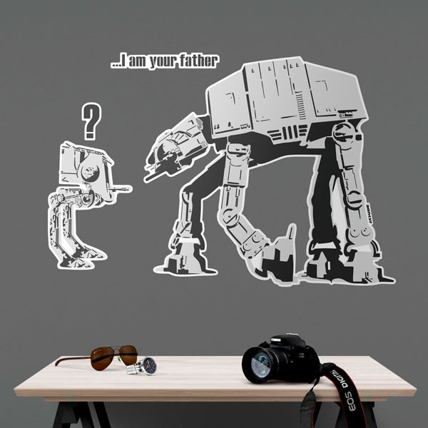 Vinilos Decorativos: Banksy, Star Wars