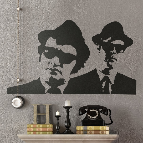 Vinilos Decorativos: Blues Brothers
