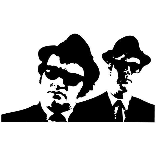 Vinilos Decorativos: The Blues Brothers