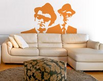 Vinilos Decorativos: The Blues Brothers 3
