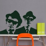 Vinilos Decorativos: The Blues Brothers 4