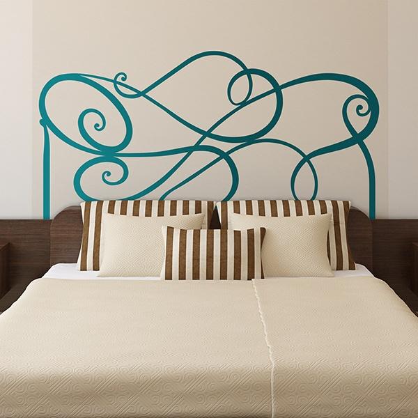 Vinilo cabecero abstracto - Vinilos decorativos para cabeceros de cama ...