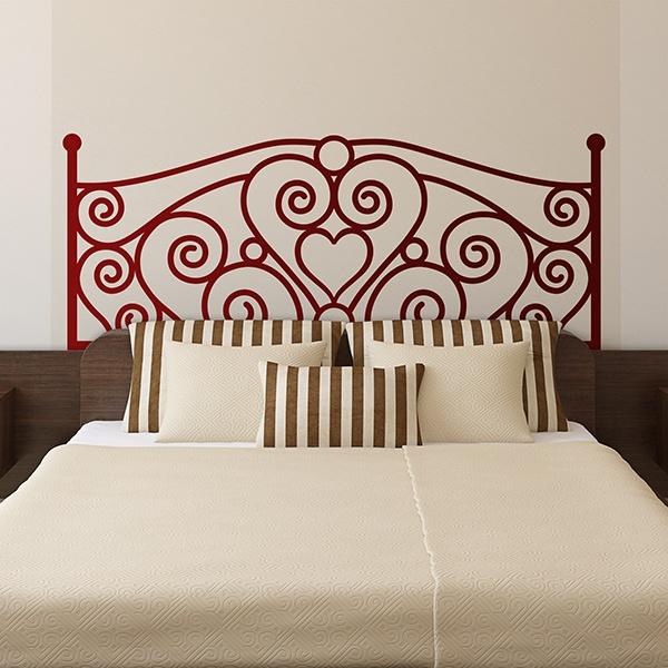 Vinilos para cabeceros o cabezal de cama - Vinilos decorativos cabecero ...