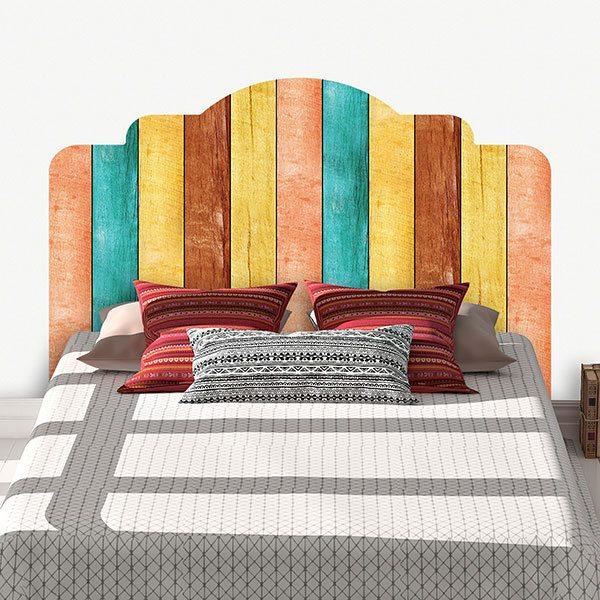 Cabecero de cama de vinilo