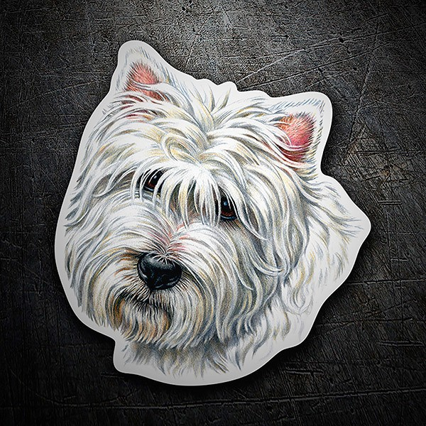 Pegatinas: West Highland Terrier