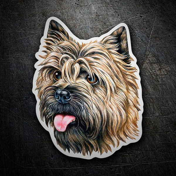 Pegatinas: Cairn Terrier