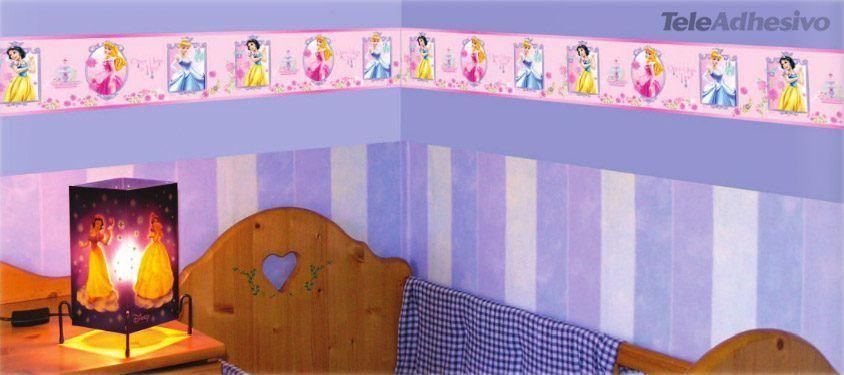 Vinilos con cenefas decorativas de disney teleadhesivo - Habitaciones infantiles disney ...