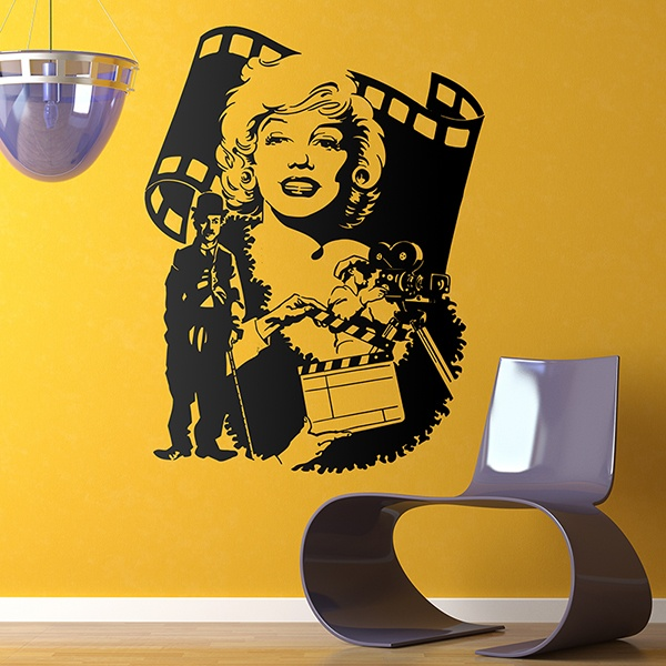 Vinilos Decorativos: Hollywood Stars