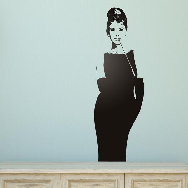 vinilos decorativos de mujeres y pin up. Black Bedroom Furniture Sets. Home Design Ideas