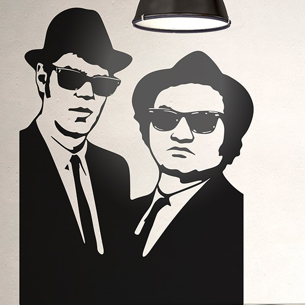 Vinilos Decorativos: Blues Brothers 2
