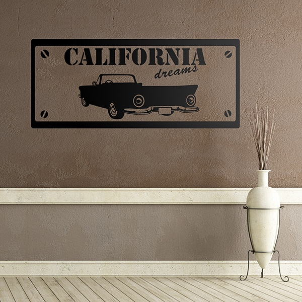 Vinilos Decorativos: California Dreams